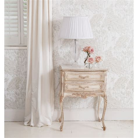 french bedroom company delphine distressed white bedside french bedroom company