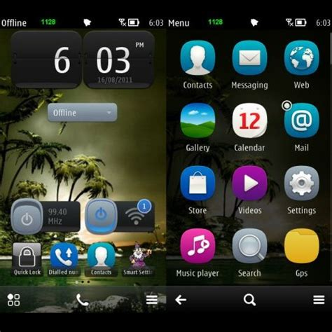 out of focus a theme for symbian belle apk mania symbian belle koolmobile