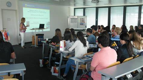 Munich Business School Mba by Orientation Day At Munich Business School Mbs Insights