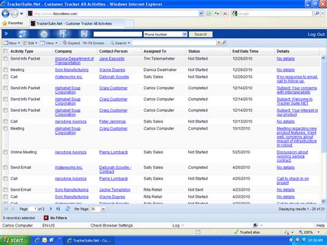 Tracker Phone Number Tracking Customer Activities With Customer Tracker Net