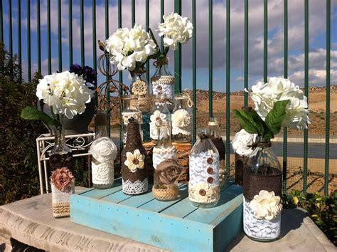 Rustic Vintage Wedding Decor Ideas by Chic Rustic Wedding Decor Photograph Vintage Wedding Vases