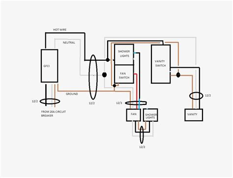nutone bathroom exhaust fans wiring diagram wiring