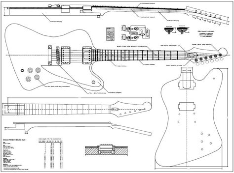 guitar design template firebird guitar template guitar projects