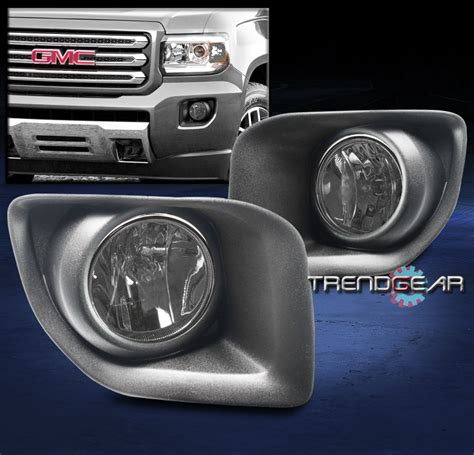 2015 gmc fog lights 2015 2016 gmc truck front bumper fog lights ls