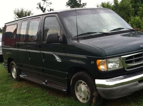 how to sell used cars 2001 ford econoline e150 transmission control buy used 2001 ford e 150 quot la west quot custom conversion cargo van v8 4 6l in paris virginia