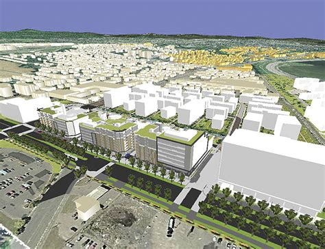 layout view arcscene the city of quebec models a bright future with 3d gis arcnews