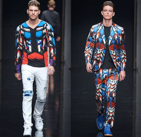 john richmond  spring summer mens runway  denim