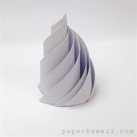How To Make A Paper Whip - origami icing paper kawaii