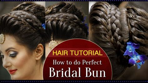 how to do a bridal bun hair tutorial fast and easy bridal bun tutorial for