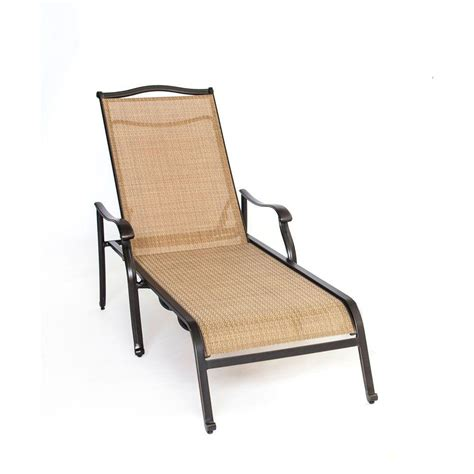 Patio Chaise Lounge Chair by Hanover Monaco Patio Chaise Lounge Chair Monchs The Home