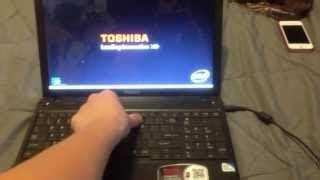 toshiba satellite factory restore reinstall windows reset p305 a660 a665 c640 c650 c55d 14 7