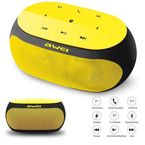 Awei Portable Bluetooth Speaker Y200 bluetooth speaker awei y200 portable speaker wireless bluetooth v3 0