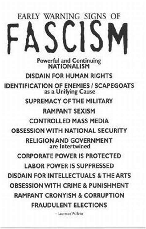 fascism today what it is and how to end it books warning signs of fascism flickr photo