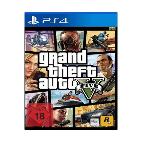 Terbatas Ps4 Bd Gta 5 Grand Thief Auto Region 3 jual sony ps4 grand theft auto v gta 5 dvd harga kualitas terjamin