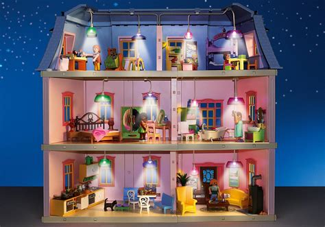 play mobile doll house light set for deluxe dollhouse 5303 6456 playmobil