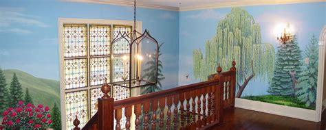 Foyer Mural by Landscape Mural In Foyer Silv 232 Re Boureau