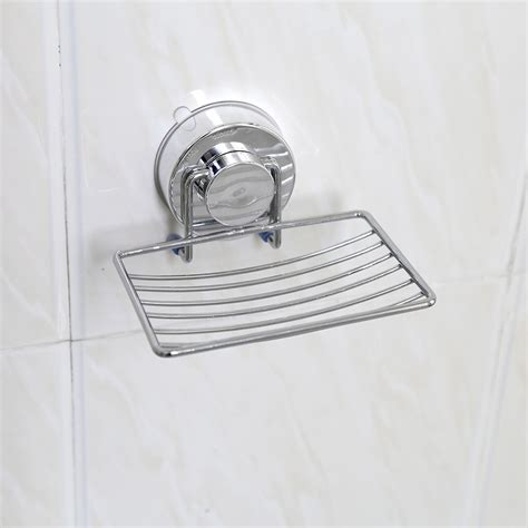 Bathroom Organizer Tray by Strong Suction Bathroom Kitchen Soap Dish Holder Basket