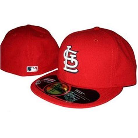 st louis cardinals new era fitted baseball hat