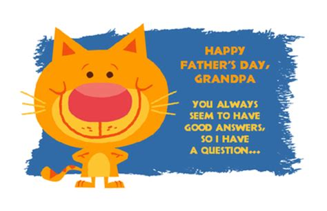 printable christmas cards for grandpa grandpa has the answers greeting card father s day