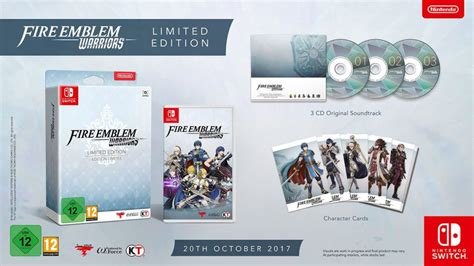 Sale Nintendo Switch Emblem Warriors Limited Edition emblem warriors launches in europe on october 20 limited edition revealed handheld players