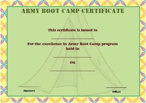 boot c certificate template 25 boot c certificate templates to and use