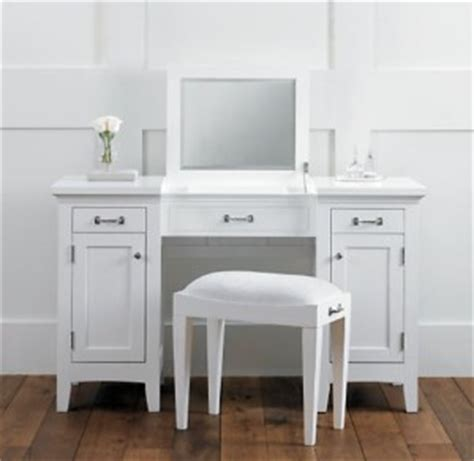 cartwright vanity dressing table and bath stool white