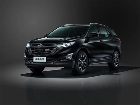chevrolet equinox back chevy equinox gains the rs badge in china