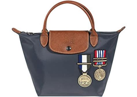 Longch The Pliage Stomp Bag by Update Longch Le Pliage Sergent Colonel Collection
