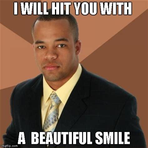 Black Guy Smiling Meme - successful black man meme imgflip