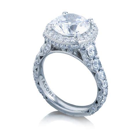 Tacori Engagement Rings by Tacori Engagement Rings Royalt Cushion Halo Setting