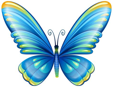 butterfly clipart large blue butterfly png clip image clip