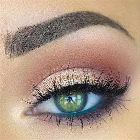 what color eyeliner for green 10 great eye makeup looks for green fashion daily