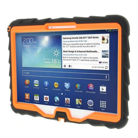 Samsung Rugged Tablet by Gumdrop Cases Droptech For Samsung Galaxy Tab 3 10 Rugged