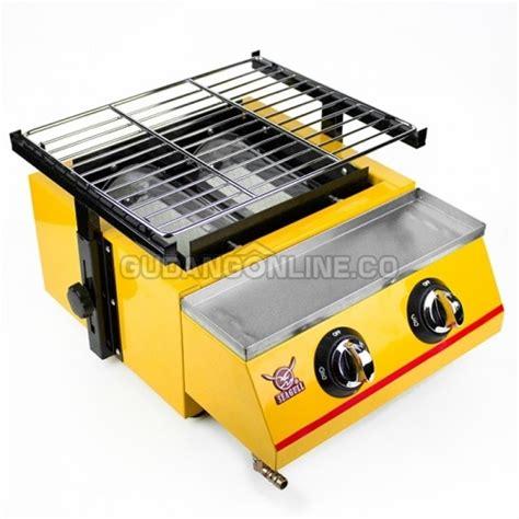 Panggangan Kompor Gas seagull panggangan gas roaster bbq kompor 2 tungku et k111