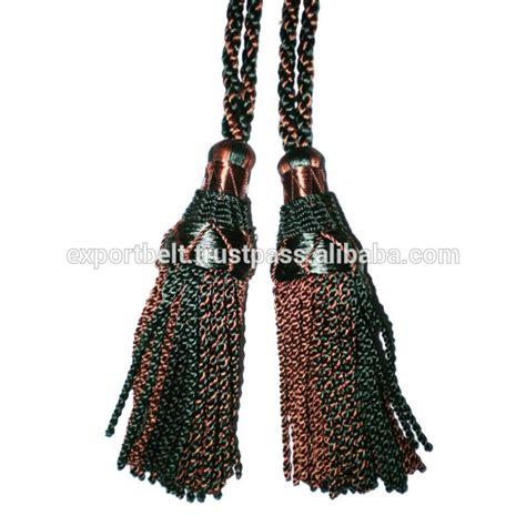 drape tassels drapery cord tassel elegant white drapery double tassel