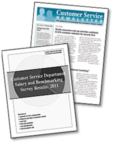 Customer Service Newsletter Customer Service Newsletter