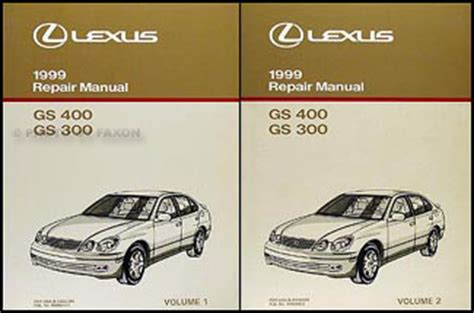 car repair manuals online pdf 2001 lexus gs head up display 1998 2005 lexus gs 400 430 and 300 body collision repair shop manual orig