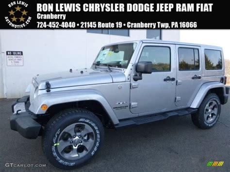 jeep billet silver metallic 2017 billet silver metallic jeep wrangler unlimited sahara