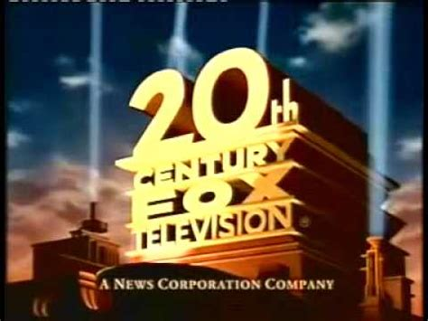 20th century fox television logo 1995 1997 youtube