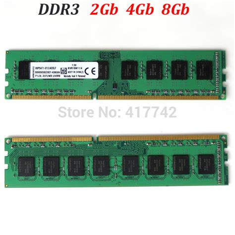 kvr ram ddr3 8gb 4gb 2gb 1600mhz 1333mhz for amd memory