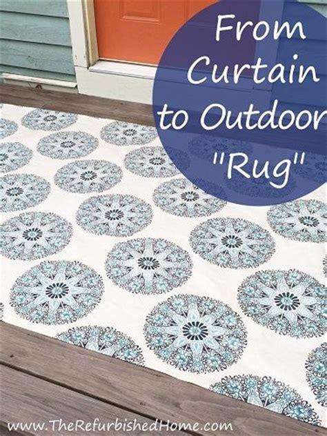 fall outdoor rugs when the outdoor rug you fall in with is actually a curtain panel i found a way to make
