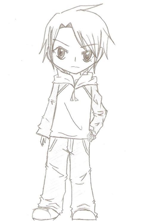 Boy Or Chibi Boy By Czech1711 On Deviantart Boy And Anime Drawing