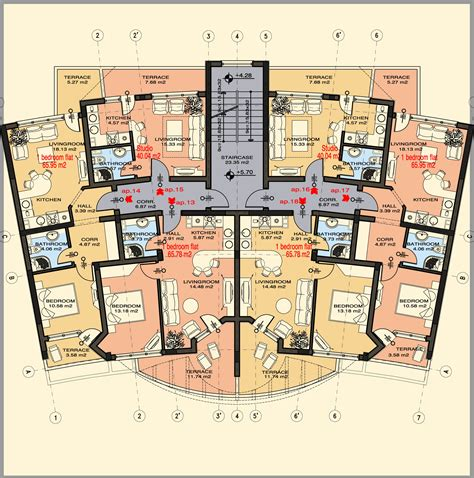 appartment floor plans two bedroom apartment layout plans apartment design ideas