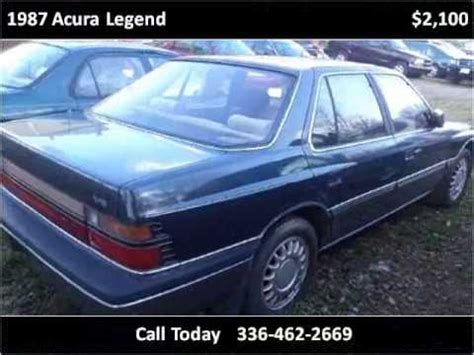 accident recorder 2002 acura rsx electronic throttle control service manual 1987 acura legend removal 1987 acura legend used cars winston salem nc youtube