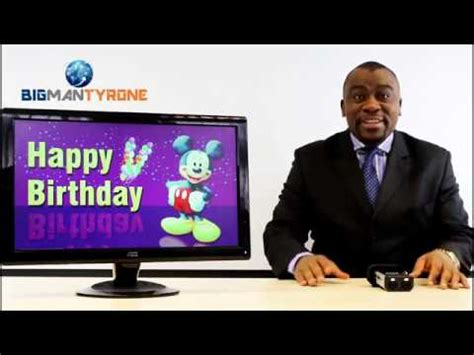 tyrone wishes happy birthday to may born viewers youtube