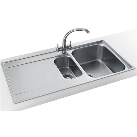 frank stainless steel sinks franke maris slim top propack mrx 251 stainless steel