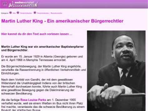 Chronologischer Lebenslauf Martin Luther Martin Luther King Lebenslauf Lebenslauf