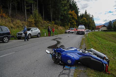 Unfall Motorrad Tirol by Schwerer Motorradunfall Bei Patsch Tirol Orf At