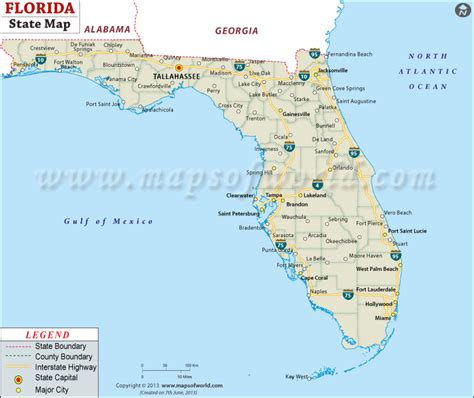 map of florida usa florida state map map of state of florida with cities