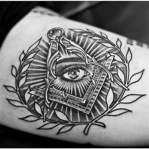 free mason tattoo 25 best ideas about illuminati on